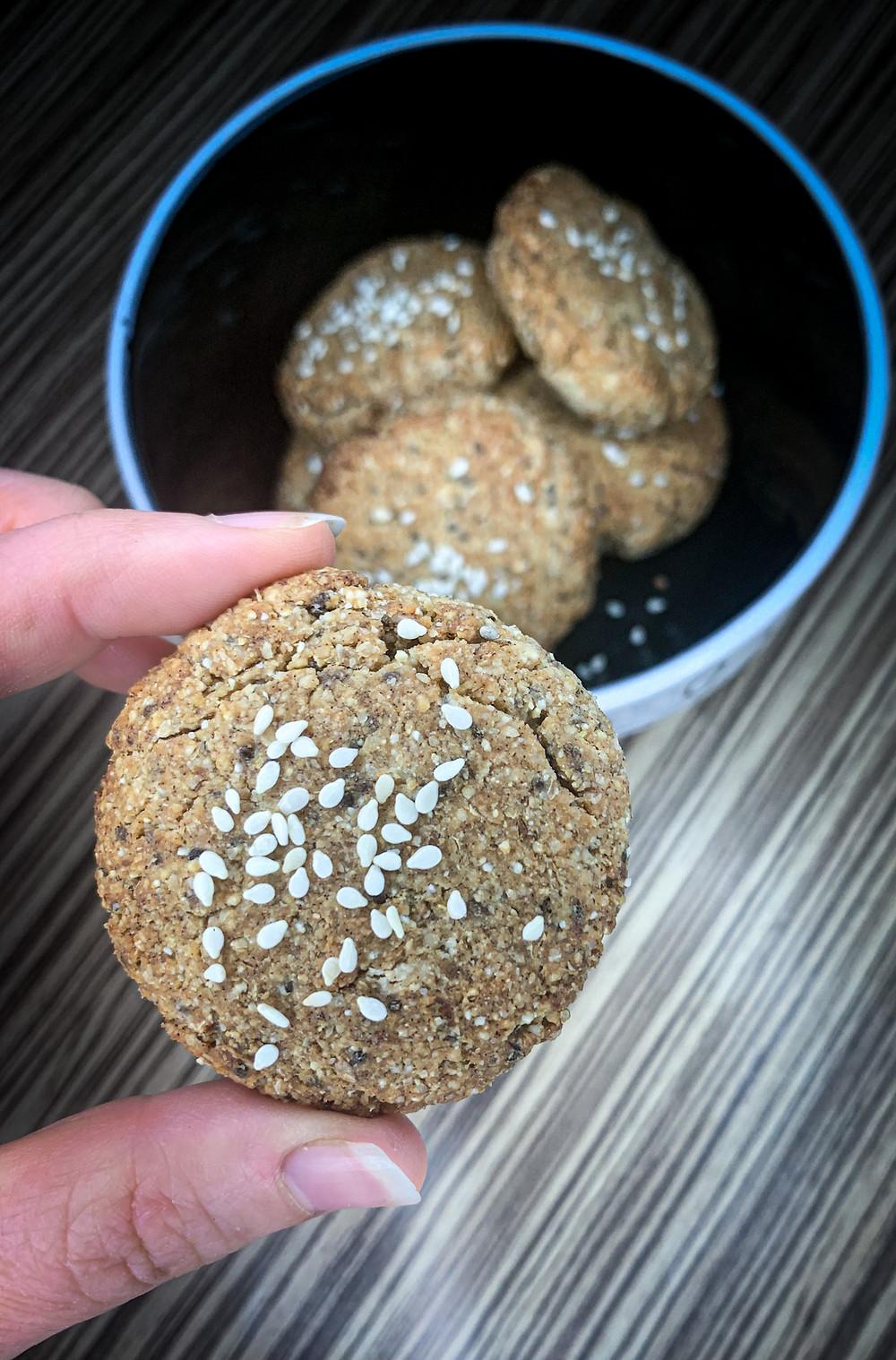 Galletas de mantequilla de maní - Nutricionista Online Karina Herrera