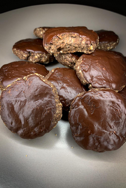 Galletas de cacao proteicas - Nutricionista Online Karina Herrera