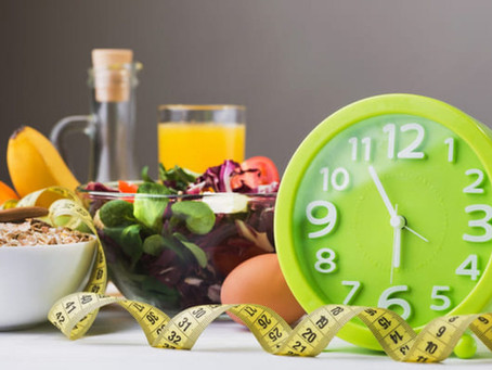 Crononutrición: Alimentación con restricción de tiempo (TRE)