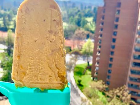 Helado mango-mantequilla de maní