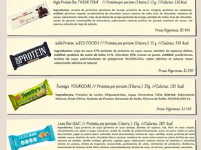 Comparación Barras de proteína