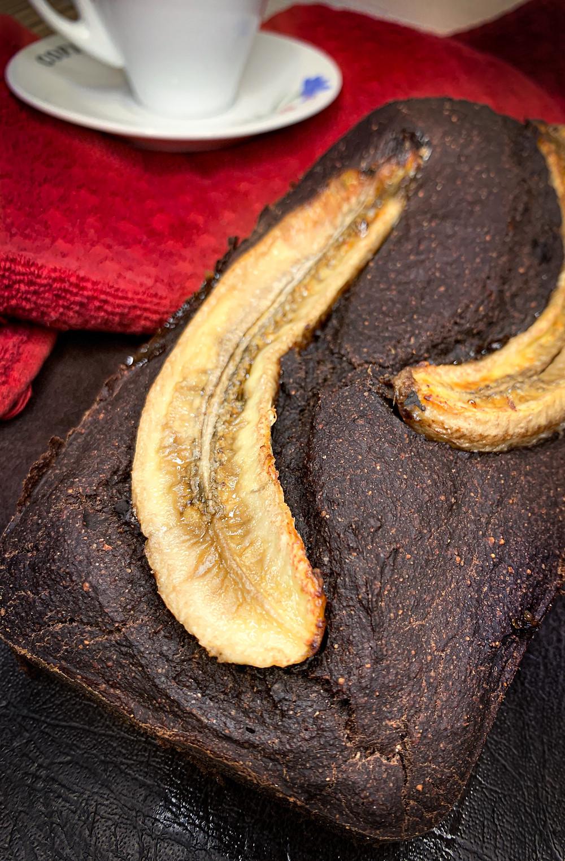 Biscocho de plátano y cacao - Nutricionista Online Karina Herrera