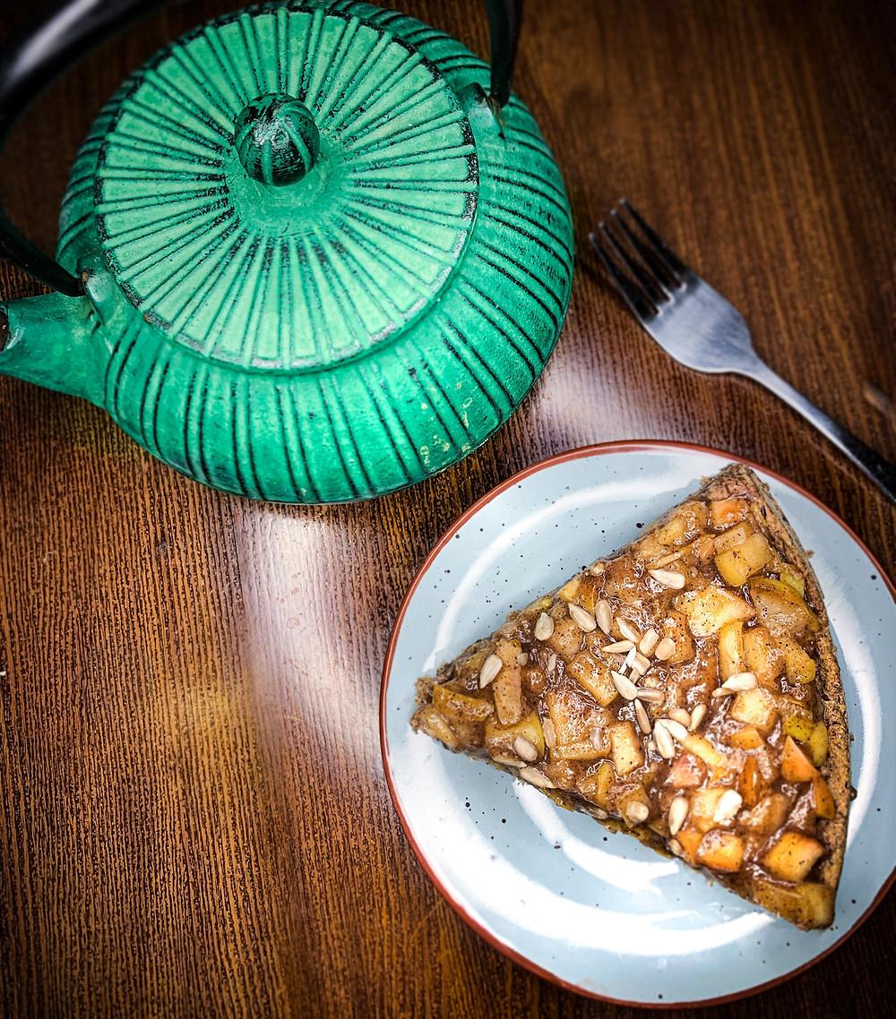Pie de manzana y pera - Nutricionista Online Karina Herrera