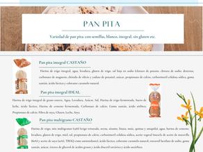 Comparación Pan pita