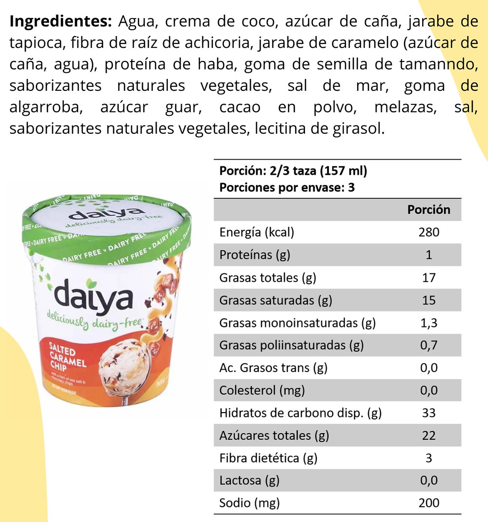 Helado Vegano DAIYA
