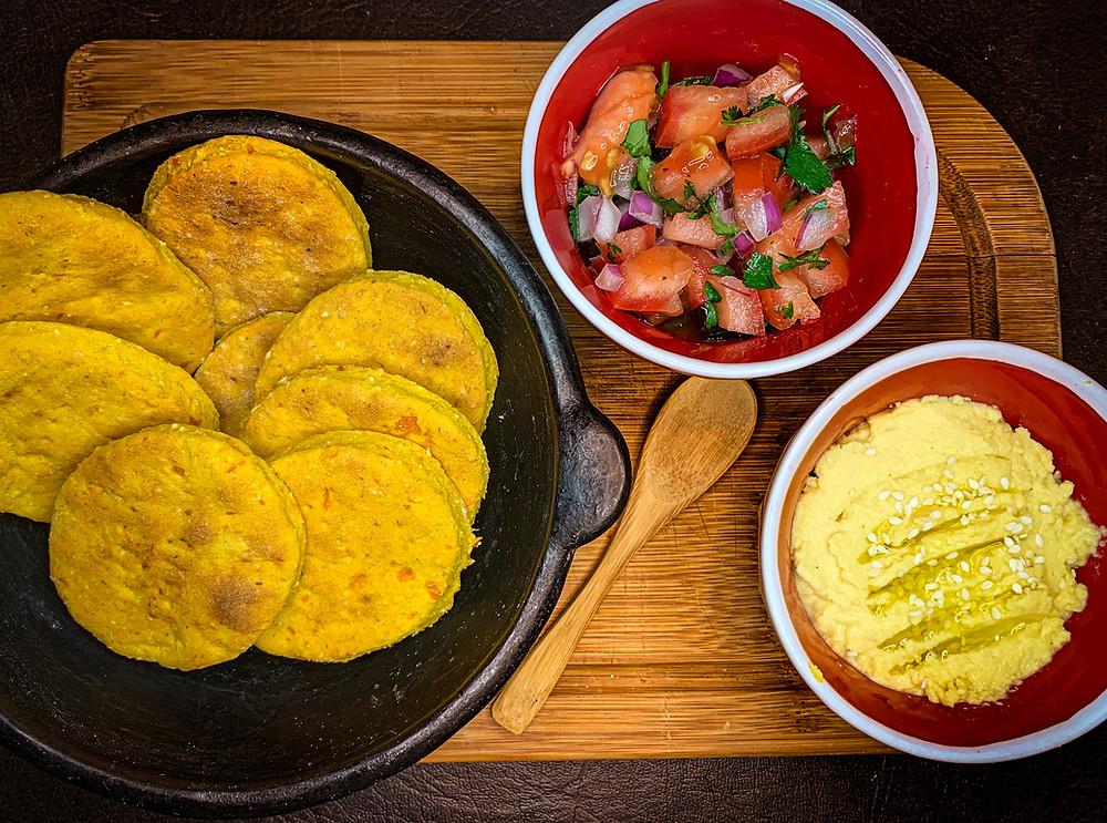 Sopaipillas al horno - Nutricionista Online Karina Herrera