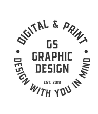 GS Graphic Design Wickford Essex Logo.