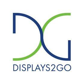 Displays2Go logo