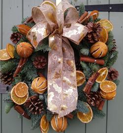 Traditional Christmas Wreath