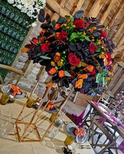 Autumn Wedding Centrepiece