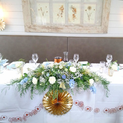 Natural and Wild Top Table Arrangement