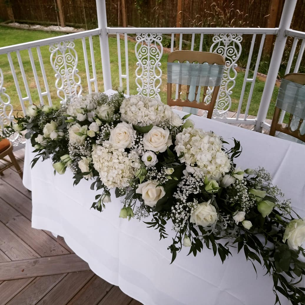 Classic Top Table Flowers