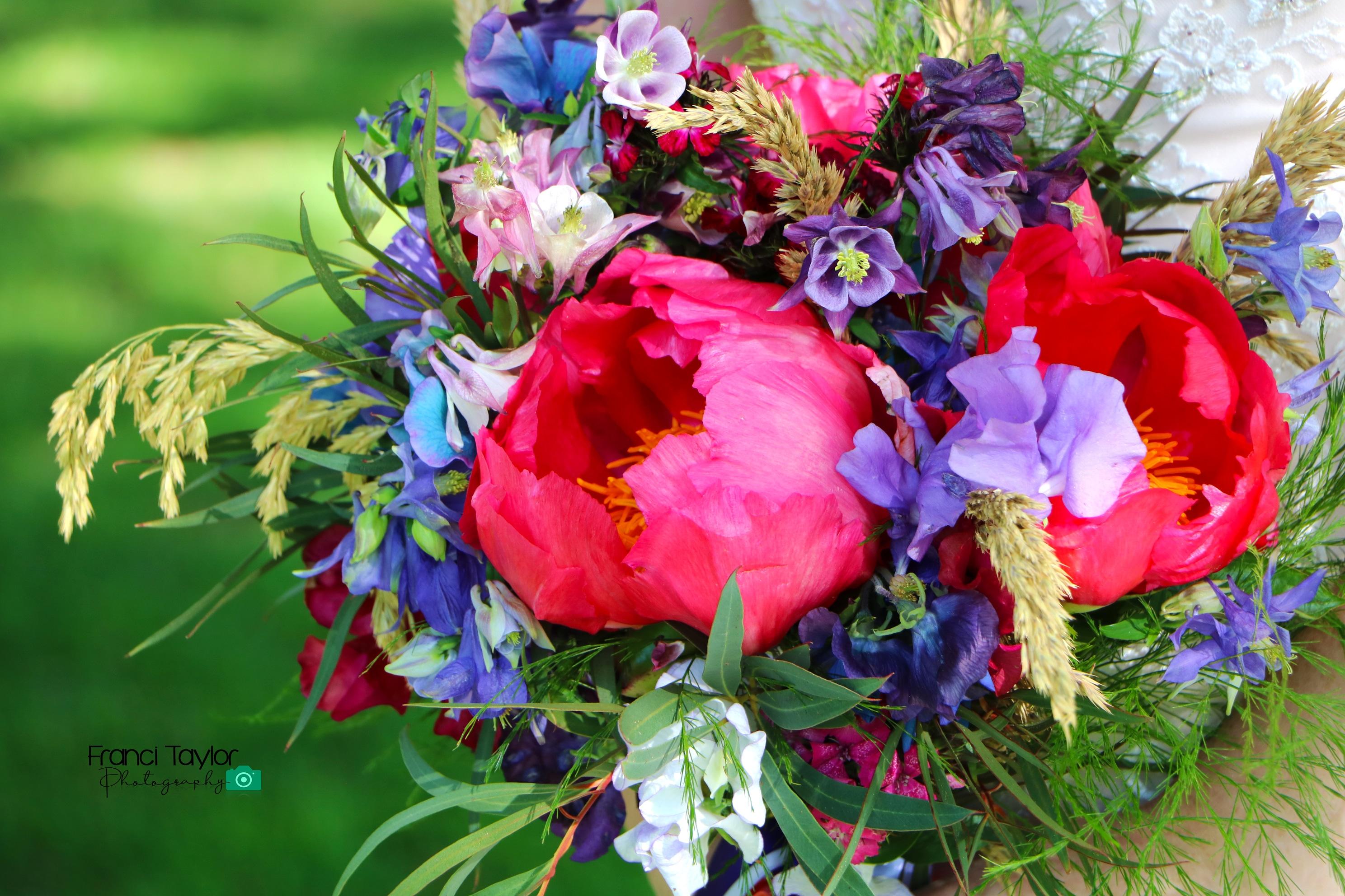 Rustic, Boho, Natural Bridal Bouquet