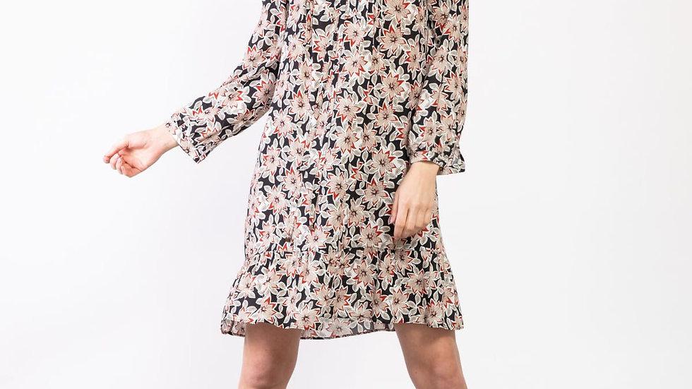 Robe tunique à fleur