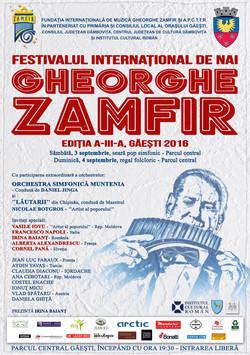Poster International Pan Flute Festival