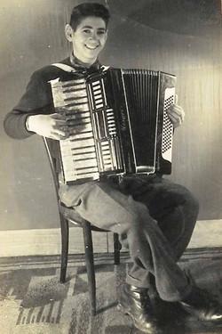 Gheorghe Zamfir - 14 years old