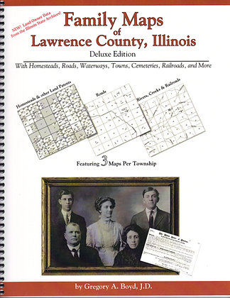 Family Maps of Lawrence County Il