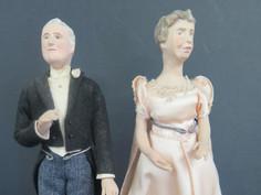 Franklin D and Eleanor Roosevelt