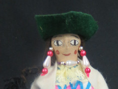 Unidentified Costume Doll- Unknown Maker