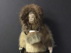 Eskimo Doll- Unknown Maker