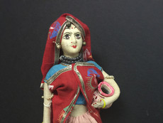 Costume doll representing India