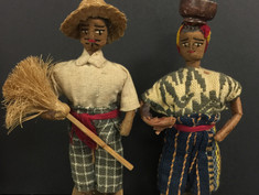 Guatemalan Costume Dolls- Unknown Maker