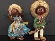 Mexican Folk Art Dolls- Unknown Maker