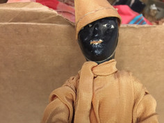 Iranian Costume Doll- Unknown Maker