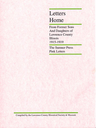 Letters Home-The Pink Letters