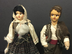 Hungarian Dolls- Unknown Maker