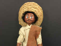 Mexican Folk Art Doll- Unknown Maker