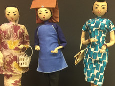 Costume Dolls- Maker Unknown