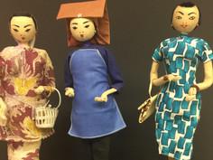 Costume Dolls- Unknown Maker