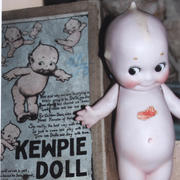 "6"" Bisque Kewpie Doll- Kimport Doll Co"