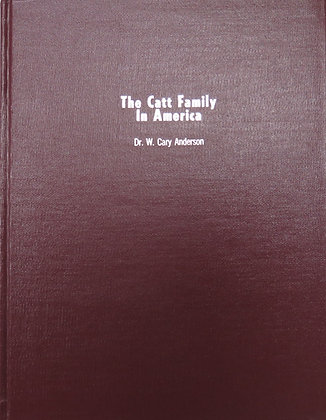 Catt Family Genealogy