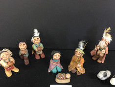 Native American Nativity Dolls- Unknown Maker