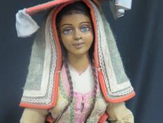 Peru- Huancanelica Region Doll- Unknown Maker