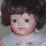 "14"" Composition Doll- Effanbee Co"