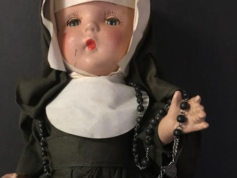 Nun Doll Unknown Maker
