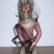 Felt Boudoir Doll- Possibly Lenci