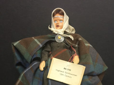 Highland Gentlewoman Doll- BR/340 Peggy Nisbet