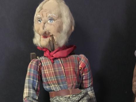 Stockinette Doll- Possibly by Bernard Ravca