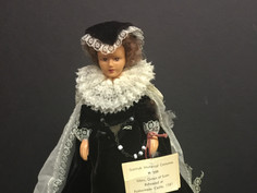 Mary, Queen of Scots Doll-  H/209 Peggy Nisbet