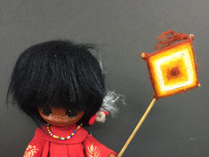 Pima Indian Doll- Unknown Maker