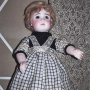 """18"""" Bisque Doll- J Steiner Series A"""