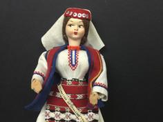 Croatian Doll- Unknown Maker