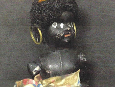 African Costume Doll- Unknown Maker