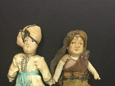 Costume dolls representing India