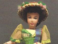 Philippine Costume Doll- Unknown Maker