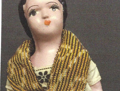 Mayan Indian Doll- Unknown Maker